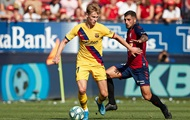 Барселона сенсационно упустила победу над Осасуной