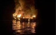 Найдены четыре тела после пожара на судне у берегов США