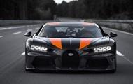 Bugatti Chiron разогнали до рекордных 490 км/ч