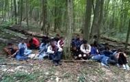 На Закарпатье пограничники задержали 24 нелегалов