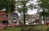 В Бельгии мощный взрыв уничтожил несколько домов