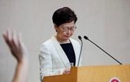 Глава Гонконга отзывает законопроект об экстрадиции – СМИ