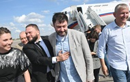 В России участников обмена вывезли из аэропорта