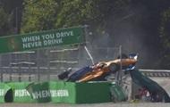На гонке Формулы-3 произошла жуткая авария