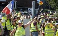 Во Франции возобновились акции