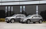 Mercedes презентувала гібридні GLE і GLC