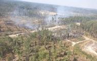 Пожар на арсенале в Калиновке ликвидировали