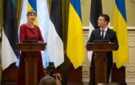 Зеленський анонсував візит в Естонію