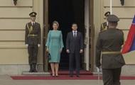 Зеленский проводит встречу с президентом Словакии