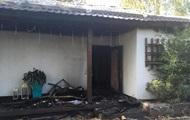 Фото наслідків пожежі в будинку Гонтаревої