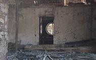 Поджог дома Гонтаревой: видео последствий