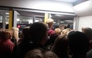 В Киеве произошла давка на станции метро Святошин