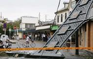 В Японии 30 человек пострадали от тайфуна