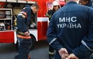 Под Киевом произошел крупный пожар в новостройке