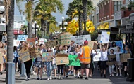 В Новой Зеландии проходит масштабная климатическая забастовка