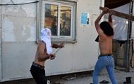 В греческом лагере для беженцев произошли беспорядки