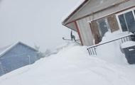 Один из американских штатов завалило снегом