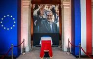 В Париже прощаются с Жаком Шираком