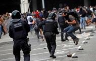 Протести в Каталонії розганяють гумовими кулями