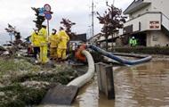 Число погибших от тайфуна в Японии увеличилось до 33 человек