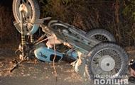 На Вінниччині в ДТП з мотоциклом загинули двоє людей