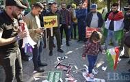 Курды пикетировали посольство США в Киеве