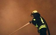 В Киеве сгорело пять машин