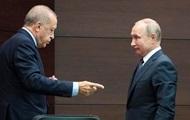 Путин пригласил Эрдогана в Сочи