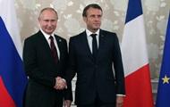 Макрон и Путин обсудили