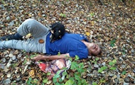 На Закарпатье в лесу собака спасла жизнь хозяину