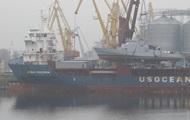 В Одесі спустили на воду катери, що прибули зі США