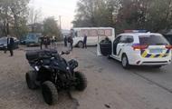 ДТП під Мукачевим: квадроцикл влетів у натовп