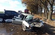На Донбассе в лобовом ДТП погибли два человека