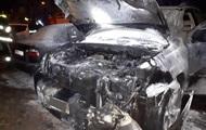 В Ровно мужчина поджег Lexus и сам загорелся