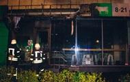 В Киеве ночью произошла серия поджогов магазинов