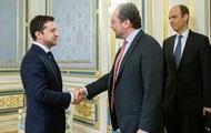 Зеленский посетит Австрию с официальным визитом