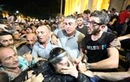 У Грузії після сутичок з поліцією є постраждалі