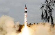Індія випробувала балістичну ракету, здатну нести ядерний заряд