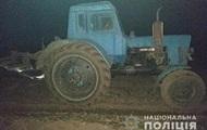 В Винницкой области со стрельбой задерживали тракториста