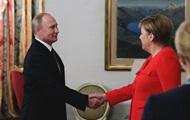 Путін дав Меркель обіцянку щодо транзиту газу