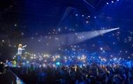 На концерті Олега Винника сталася масова бійка