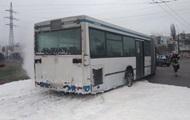В Николаеве на ходу загорелся автобус с пассажирами