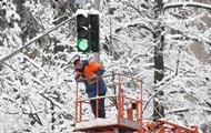 Сильный снег. Синоптики обещают приход холодов