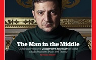 На обложку Time впервые попал президент Украины