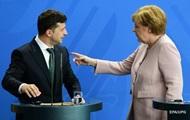 Меркель окремо переговорить із Зеленським і Путіним