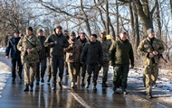 Зеленський провів День ЗСУ на передовій на Донбасі