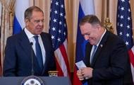 Головною темою зустрічі Помпео з Лавровим була Україна