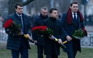 Зеленский почтил память погибших ликвидаторов последствий аварии на Чернобыльской АЭС