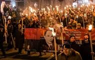 В Киеве началось факельное шествие в честь Степана Бандеры