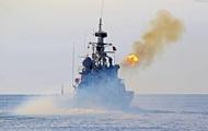 Украинские корабли морской охраны вышли в море